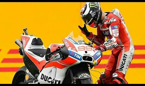 Lorenzo Crash Argentina MotoGP