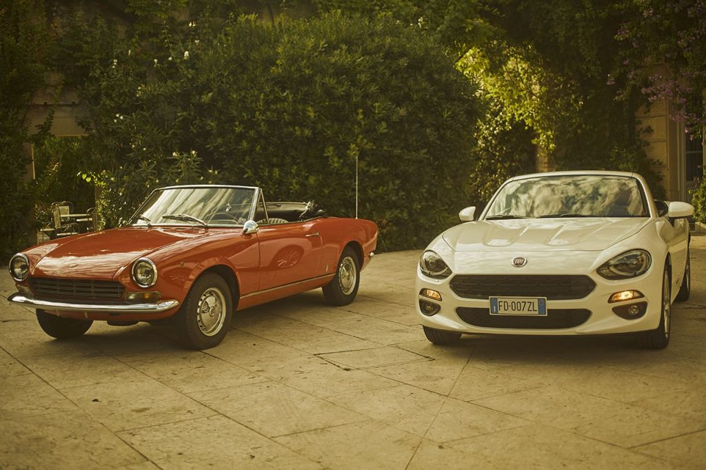 Fiat 124 Spider new vs old