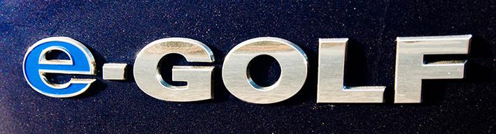 e-Golf logo