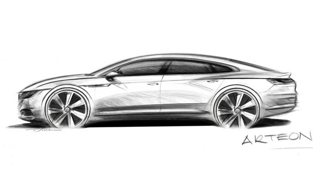 vw arteon draw